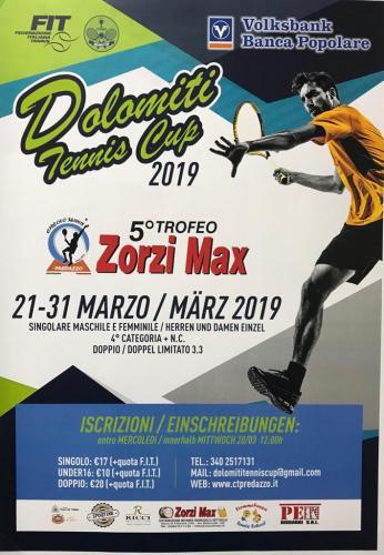2019 - TORNEO DOLOMITI TENNIS CUP