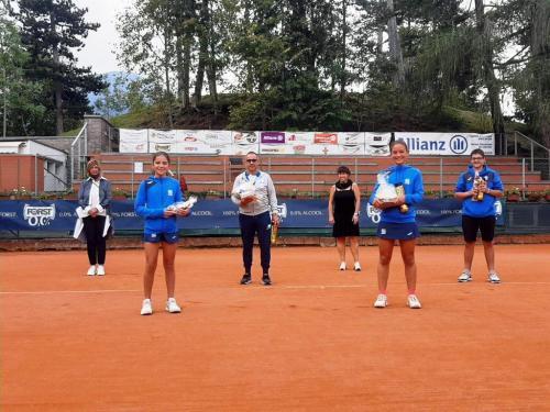 2020 - Torneo Cavalese, Martin Boninsegna-Sofia Selle e Alessia Bernard vincenti nella 4^ categoria