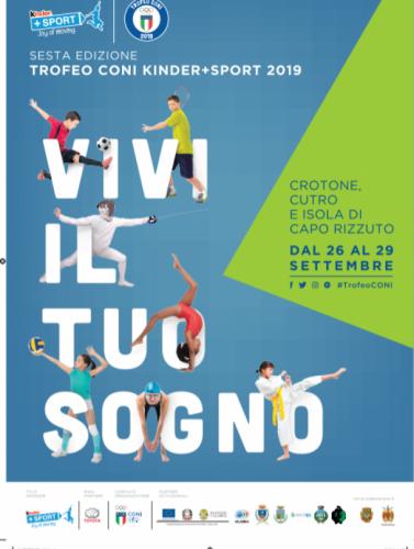 2019 - FINALI TORNEO KINDER+SPORT - SETTEMBRE - CROTONE (KR)