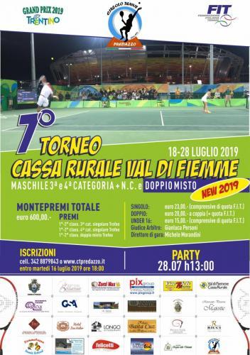 2019 - TORNEO 7° CASSA RURALE VAL DI FIEMME